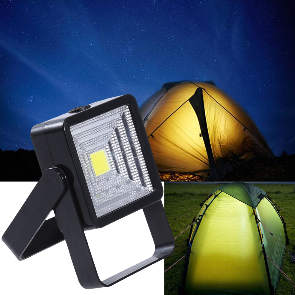 1000mAh/4V battery Outdoor Solar Light Camping Tent Emergency Light Portable Hiking Fishing Rechargeable Security Light