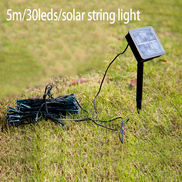 Solar Power Fairy String Lights 5M 30 LED Christmas tree lights Decorative Outdoor Garden Lawn Patio Wedding Party