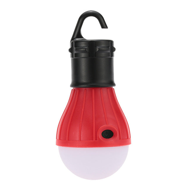 1pc Outdoor Hanging 3 LED Lights Camping Tent Bulbs Portable Fishing Lantern Lamp High Quality for Outdoor Fishing Hiking