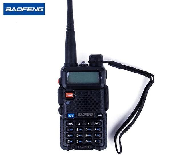 Baofeng UV5R Mobile Radio 5W Dual Band VHF/UHF136-174Mhz&400-520Mhz CB Radio Communicator Walkie Talkie HF Transceiver