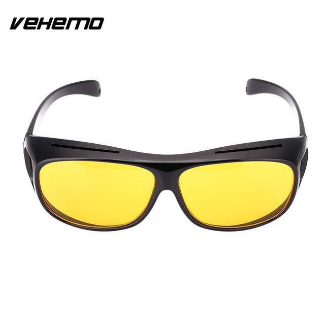 5cea5d5abee Vehemo Men Women Sunglasses Unisex HD Yellow Lenses Sunglasses Night Vision  Goggles Car Driving Glasses Eyewear