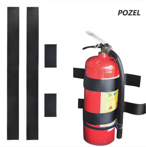 Black Roll Bar Fire Extinguisher Holder Car Styling For Mercedes Benz W203 W210 W211 AMG W204