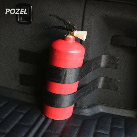 Black Roll Bar Fire Extinguisher Holder Car Styling For Chery TIGGO 5 ARRIZO7 BONUS Great wall H6 H3