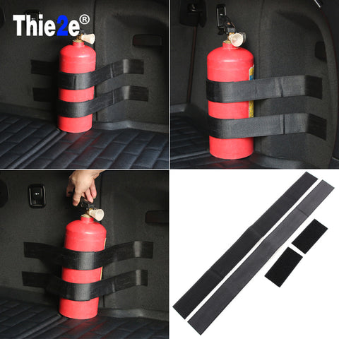 4pcs Fire extinguisher Holder Safety Strap Kit for Nissan X-Trail Terrano Qashqai Sentra Altima versa 350z