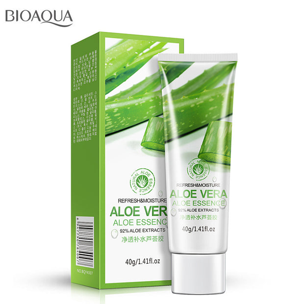 Mizon Face Cream Aloe Vera Gel Face Moisturizer Anti Wrinkle Cream Acne Scar Skin Care Sunscreen Treatment Cosmetics Bioaqua