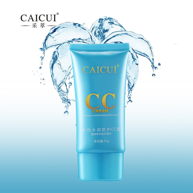 CAICUI CC Cream, Ultra-DD BB Cream SPF Sunscreen Whitening  50g, Fresh All Summer Face SKin Care 50g