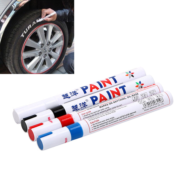 Paint Care For Car Tyre Tire Tread Waterproof Universal Paint Pen Car-styling Marker