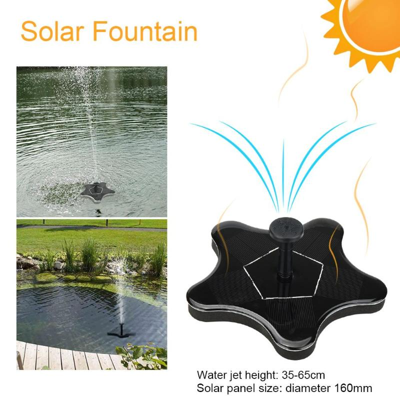 Solar Water Fountain Sea Star Solar Fountain Garden Fountain Artificial Outdoor Fountain For Home Family Garden Park Decoration