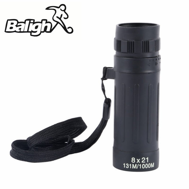 2018 New Hunt Outdoor 8X21 Rangefinder Focus Monocular Telescope Optical Telescope Survival Hunt Outdoor Tools