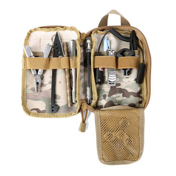 New Outdoor Bag Nylon Camping Military Tactical Bag Camouflage Military Bag Camping Hiking Travel Storage Bag