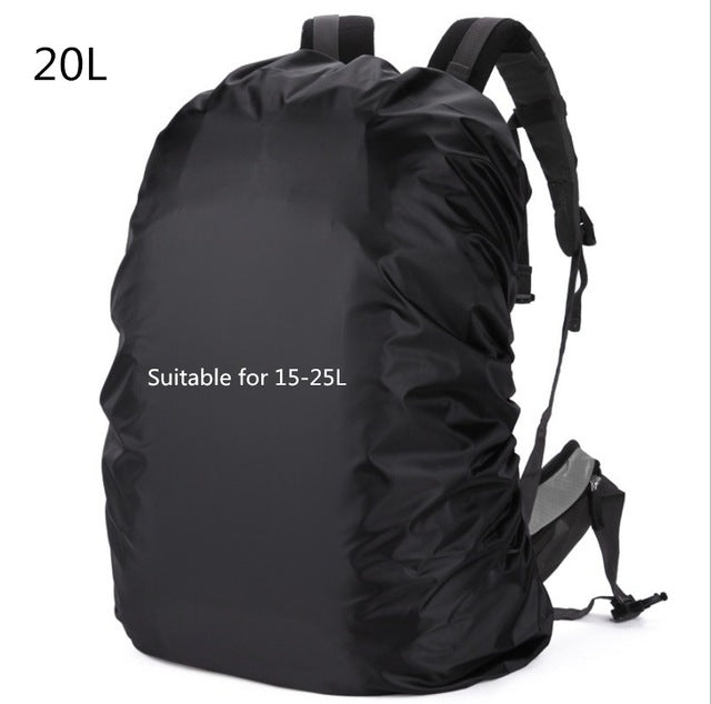 Mounchain 20-80L Adjustable Waterproof Dustproof Backpack Rain Cover Portable Ultralight Shoulder Protect Outdoor tools Hiking