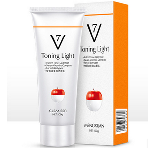 Moisturizing Toning Whitening Women Cleanser Cream