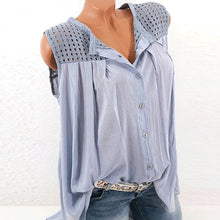 Cutout  Grid Plain Shirt