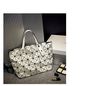 Laser Lattice Shoulder Bag