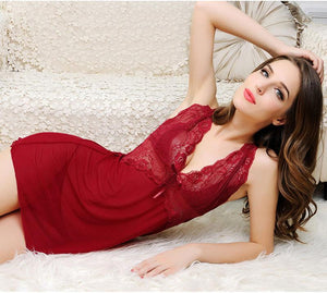 Women Sexy Lingerie Hot Transparent Sleepwear