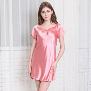 Silk-Like Noble High Quality Nightwear