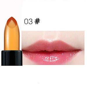 Crystal Transparent Color Change Jelly Moisturizing Lipstick