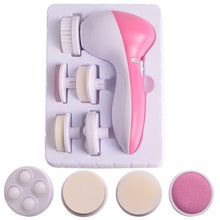 5 In 1 Multifunction Electric Ultrasonic Wash Spa Facial Cleanser Tool