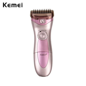 KEMEI Rechargeable Waterproof Body Hair Removal Lady Shaving Device