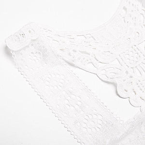 Embroidery Lace Vest Seamless Thin Breathable Bando Bras