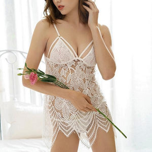 Enchanting Stylish Sexy Hollow Women Night Dress