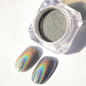 HOLOGRAPHIC RAINBOW CHROME POWDER