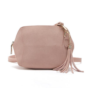 Women's Crossbody Bag Tassel Pendant Candy Colors Daily Bag