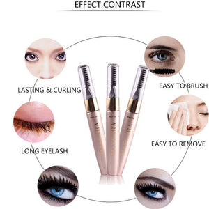 MISS ROSE Double-End Eyelash Mascara With Brush