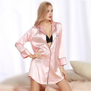 2017 Fashion Ladies Nightgown Pyjamas