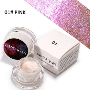 HANDAIYAN Brand 5 Color Highlighters Face Palette