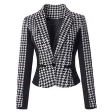Elegant Lapel Turn Down Collar OL Jacket Coat Slim Outwear