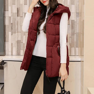 Loose Hooded Cotton Jacket Thick Coat