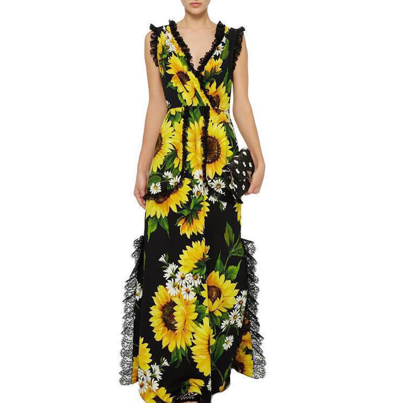 Sunflower Printed Jumpsuit