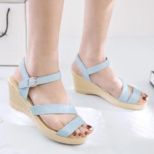 Plain  High Heeled  Ankle Strap  Peep Toe  Casual Sandals