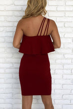 Strapless  Backless Flounce  Plain  Sleeveless Bodycon Dresses