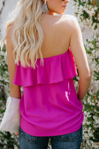 Strapless  Backless  Plain Sexy  Vests