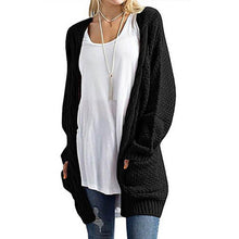 Pure Color Long Sleeve Cardigan With Pockets