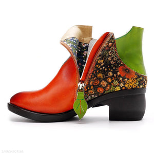 New Fashion Ethnic Style Retro Women's Boots