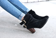 Thick Ankle Boots And Bare Boots