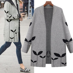 New Solid Color Loose Warm Coat
