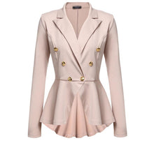 New Irregular Slim Suit Coat