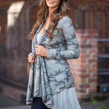 Best Selling Camouflage Digital Print Cardigan