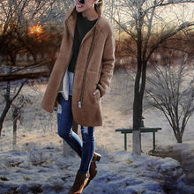 High Collar Irregular Zipper Long Coats