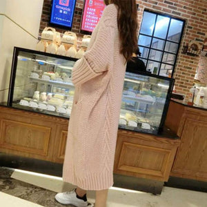 Casual Oversized Thicken Cardigan