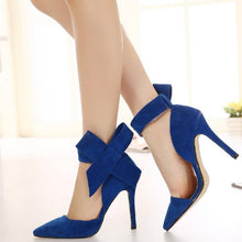 Plus Size Shoes Big Bow Tie Pumps
