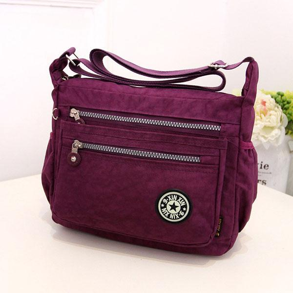Nylon Waterproof Lightweight Portable Travel Bag For Women
