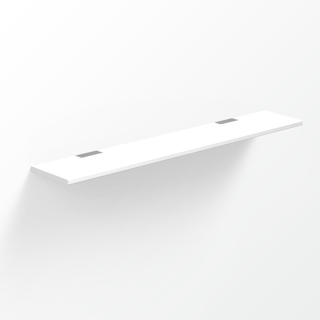 Above Solid Surface Shelf - 60x10cm