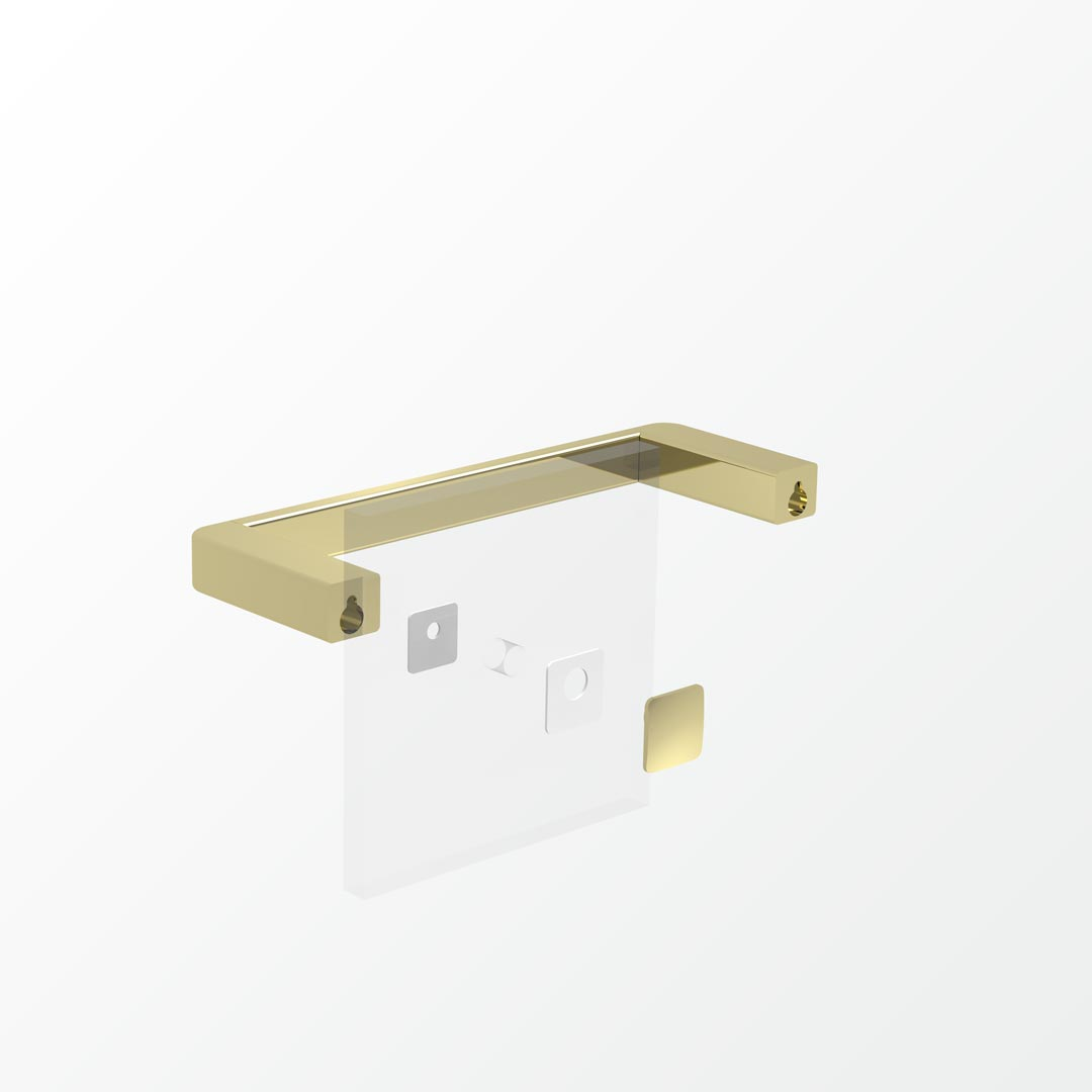 Beyond Glass Mounting Kit - Single