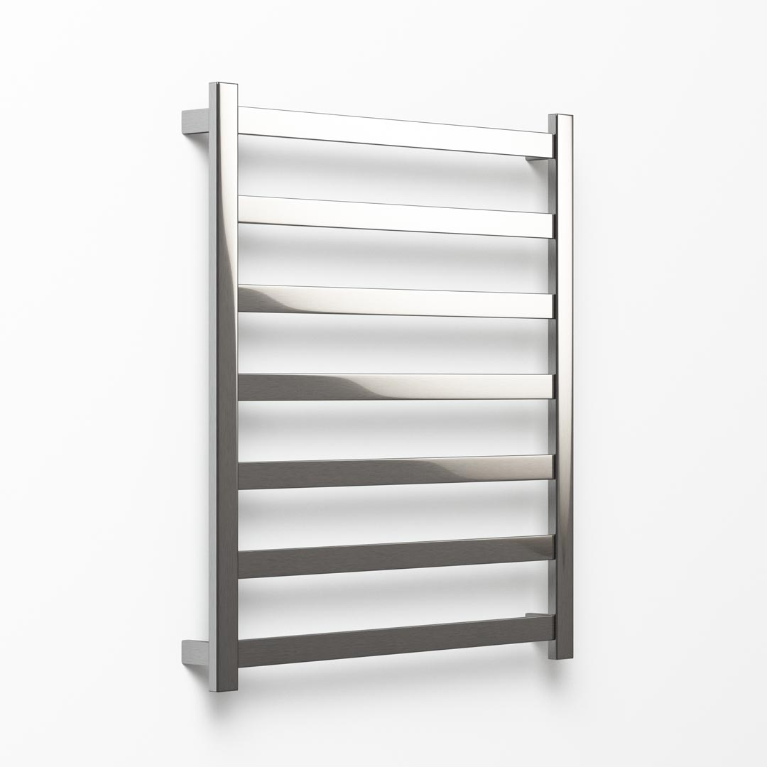 Hybrid Heated Towel Ladder - 102x90cm