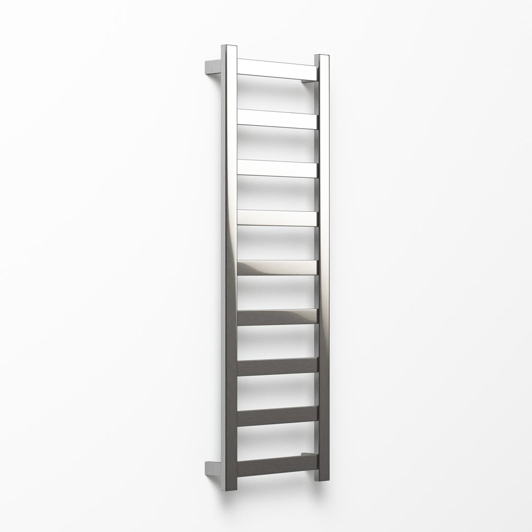 Hybrid Heated Towel Ladder - 132x45cm